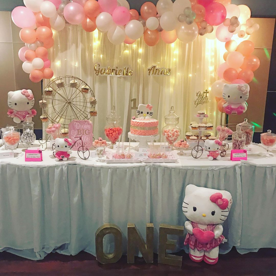 1st birthday party themes for baby girl